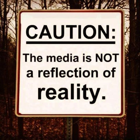 caution media reality